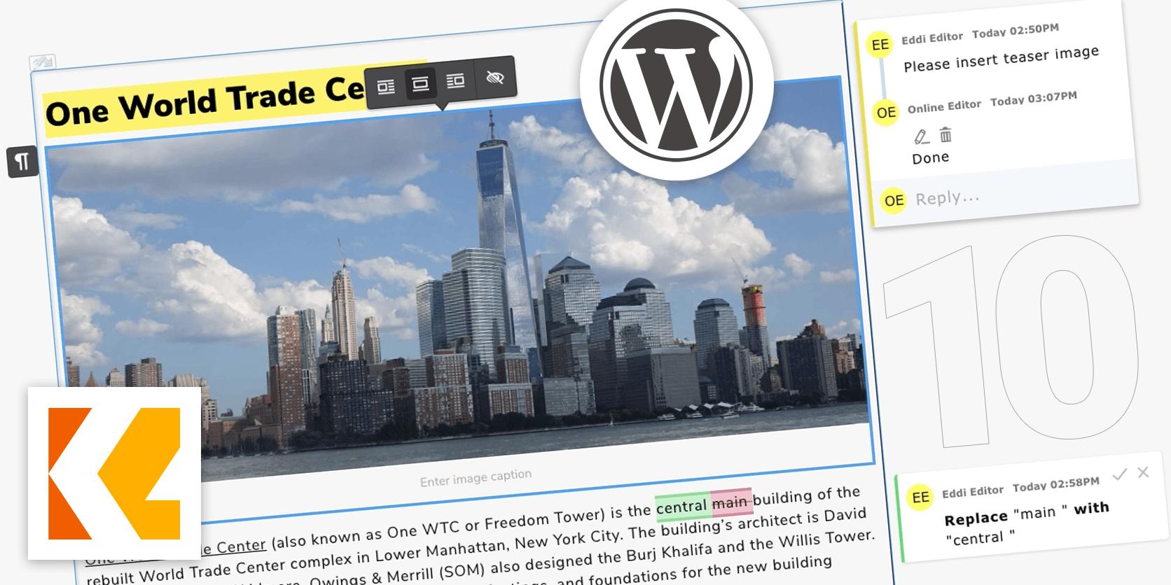 Version 10 Content Editor vjoon