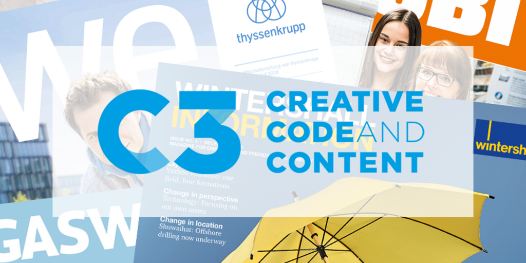 C3 Creative Code and Content Image