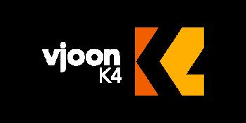 vjoon K4 Preview white